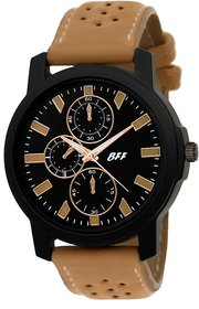 BFF Brown Black Dial Sports Analog Watch For Men