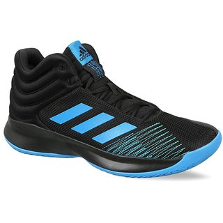 Adidas Pro Spark 2018 Mens Black Basketball Shoe