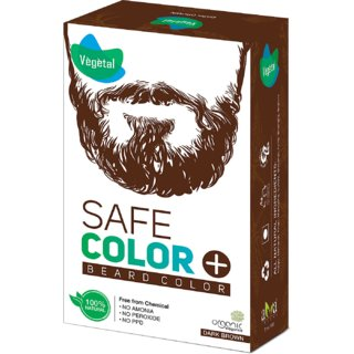 Vegetal Safe Colour Dark Brown 50gm (Beard)