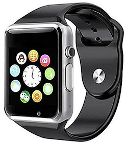 A1 Bluetooth Smart Watch Compatible with All 3G, 4G Phone with Camera and Sim Card