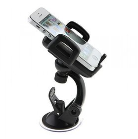 MicroBirdss Dashboard Car Phone Mount,Adjustable Windshield Holder Cradle with Strong Sticky Gel Pad (
