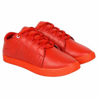 cab2cd83ad9c Buy Shoefly Men s Red Casual shoe Online - Get 0% Off