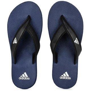 Adidas Men's Blue Adi Rio Flip Flops