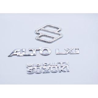Maruti Suzuki Alto LXi Logo Monogram Kit Emblem
