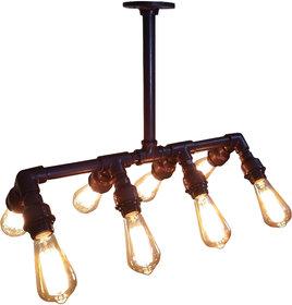 Metal 8 Bulb Angular