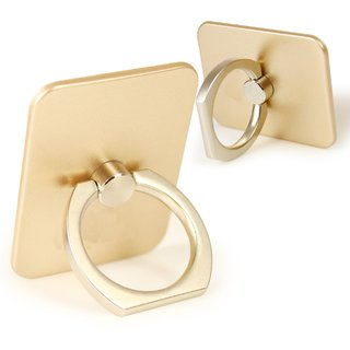 KSJ Ring  Mobile Holder for  Mobile & Tablet Golden