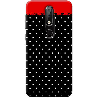 FurnishFantasy Mobile Back Cover for Nokia 6.1 Plus - Design ID - 0956