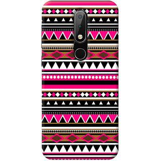 FurnishFantasy Mobile Back Cover for Nokia 6.1 Plus - Design ID - 0957