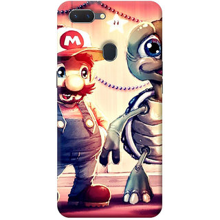 FurnishFantasy Mobile Back Cover for Oppo RealMe 2 - Design ID - 0361