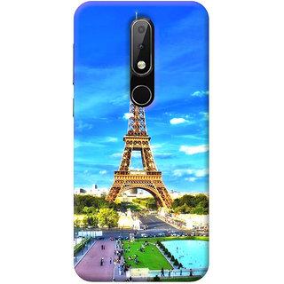 FurnishFantasy Mobile Back Cover for Nokia 6.1 Plus - Design ID - 0581