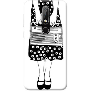 FurnishFantasy Mobile Back Cover for Nokia 6.1 Plus - Design ID - 0958