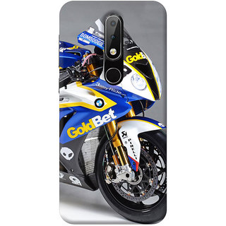 FurnishFantasy Mobile Back Cover for Nokia 6.1 Plus - Design ID - 0582