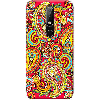 FurnishFantasy Mobile Back Cover for Nokia 6.1 Plus - Design ID - 0959