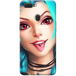 FurnishFantasy Mobile Back Cover for Oppo RealMe 2 - Design ID - 0357
