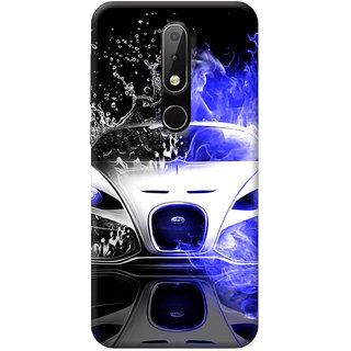 FurnishFantasy Mobile Back Cover for Nokia 6.1 Plus - Design ID - 0247