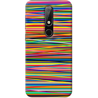 FurnishFantasy Mobile Back Cover for Nokia 6.1 Plus - Design ID - 0652