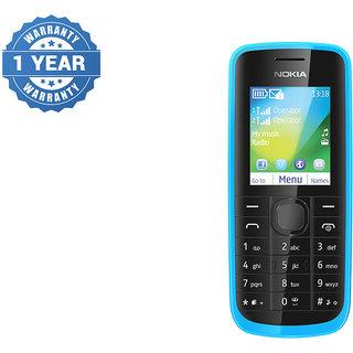 Refurbished Nokia 114 Dual Sim Cyan Blue Mobile
