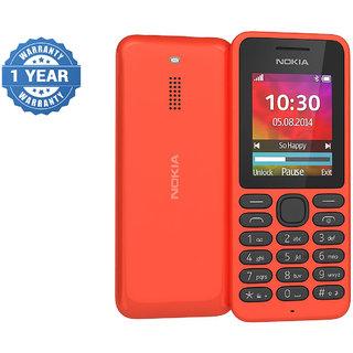 Refurbished Nokia 130 Dual Red Mobile