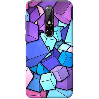 FurnishFantasy Mobile Back Cover for Nokia 6.1 Plus - Design ID - 0830