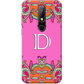 FurnishFantasy Mobile Back Cover for Nokia 6.1 Plus - Design ID - 1250