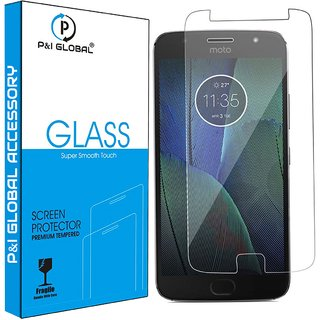 Tempered Glass Guard Screen Protector For Motorola Moto G5s Plus