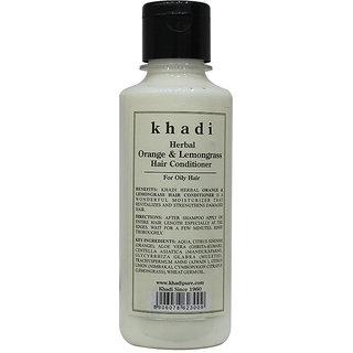 Khadi Herbal Orange  Lemongrass Hair Conditioner - 210ml