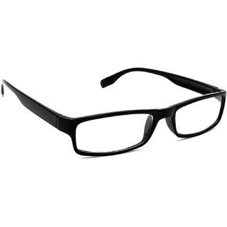 HRINKAR Unisex Black Rectangular Medium Full Rim Reading Glasses