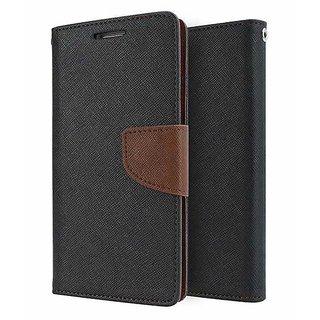 Luxury Mercury Diary Wallet Style, Flip Cover for Motorola Moto E4 Plus ( BROWN )