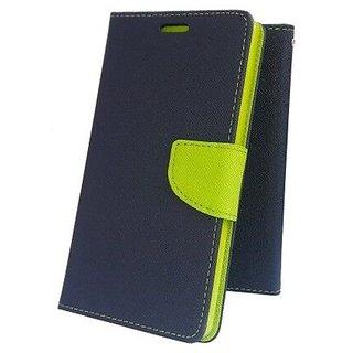 Mercury Goospery Fancy Diary Wallet Flip Cover Case for NOKIA 1 ( BLUE )