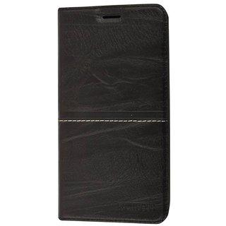 Flip Cover For Oppo A37 ( Black  )