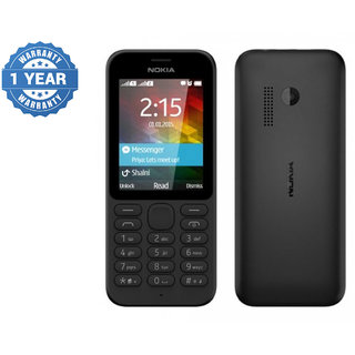 Refurbished Nokia 215 Dual Sim Black Color Mobile