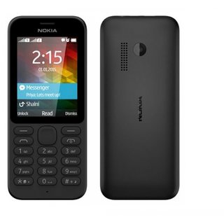Refurbished Nokia 215 Dual Sim Black Color Mobile