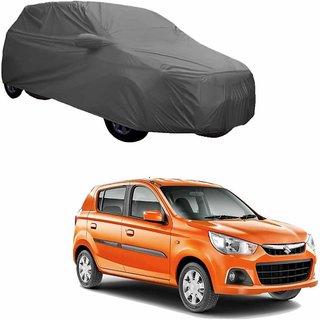 Gromaa Gray  Water Resistant Car Body Cover For Maruti Suzuki Alto 800