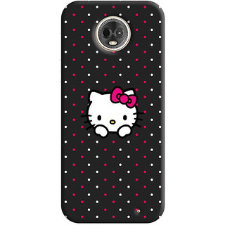 FurnishFantasy Mobile Back Cover for Moto G6 Plus (Product ID - 0902)