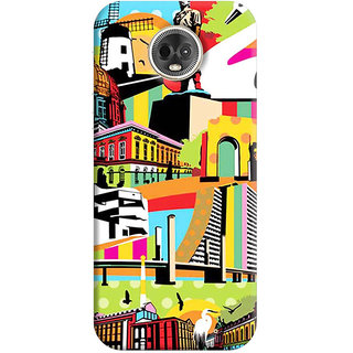 FurnishFantasy Mobile Back Cover for Moto G6 Plus (Product ID - 1649)