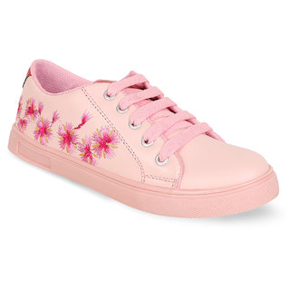 NE Shoes NE-L98 Pink Casual Shoes for Womens  Girls