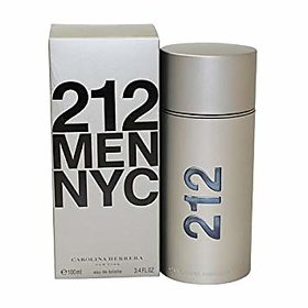 Mens 212 Men Nyc Eau de Toilette Spray - 100ml