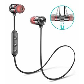 Wireless Sports Bluetooth Magnetic Earphone for All Smartphone(With Mic)