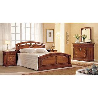 royal finish wooden cot