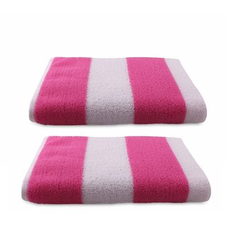 ae4bfba14655 Buy Bathe Soak Pack of 2 Microfiber Bath Towel Cabana