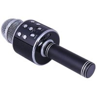 NERR Bluetooth Wireless Karaoke Mike Compatible With All Smart Phones And With Other Functions Like Echo , Bass
