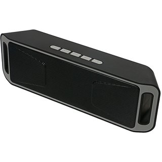 Nugenic SC208 4.0 Wireless Bluetooth Speaker Stereo Subwoofer Support FM TF Assorted Color