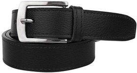 Black Formal Leather Belt