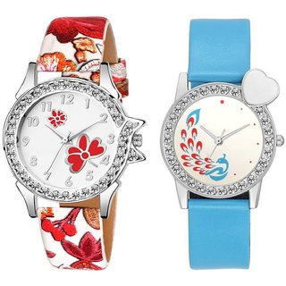 Swadesi Stuff Analog watch for Women  Girls combo of 2 watches 115 combo 8A