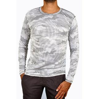 ce079b1c8a1 Buy Nike Printed Men s Full Sleeve Round Neck Nylon Tshirt Online - Get 77%  Off