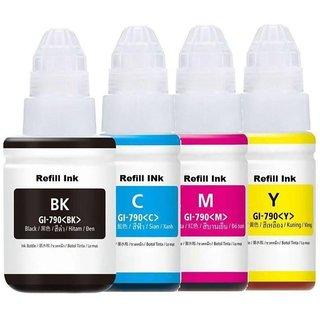 Canon GI 790 Multi Color Ink  Black, Cyan, Yellow, Magenta