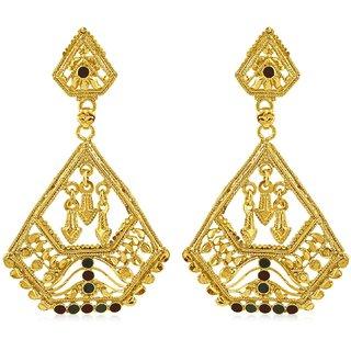 Sukkhi Fascinating Gold Plated Dangle Earring For Women