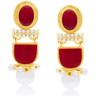 Sukkhi Angelic Gold Plated Dangle Earring For Women