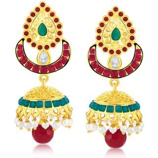 Sukkhi Fancy Gold Plated Jhumki Earring For Women