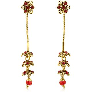 Sukkhi Glamorous Gold Plated Dangle Earring For Women